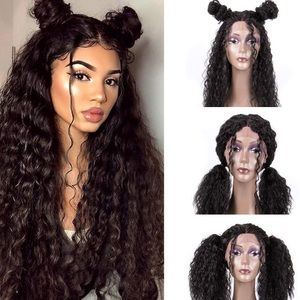 ✨TAM BLACK KINKY LACE-FRONT WIG *NWT* 🧡* 🧡 🆕